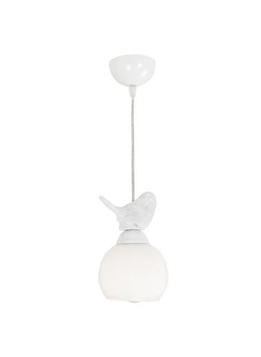 Apliqa Albatros Beyaz Tekli Sarkıt Avize Beyaz